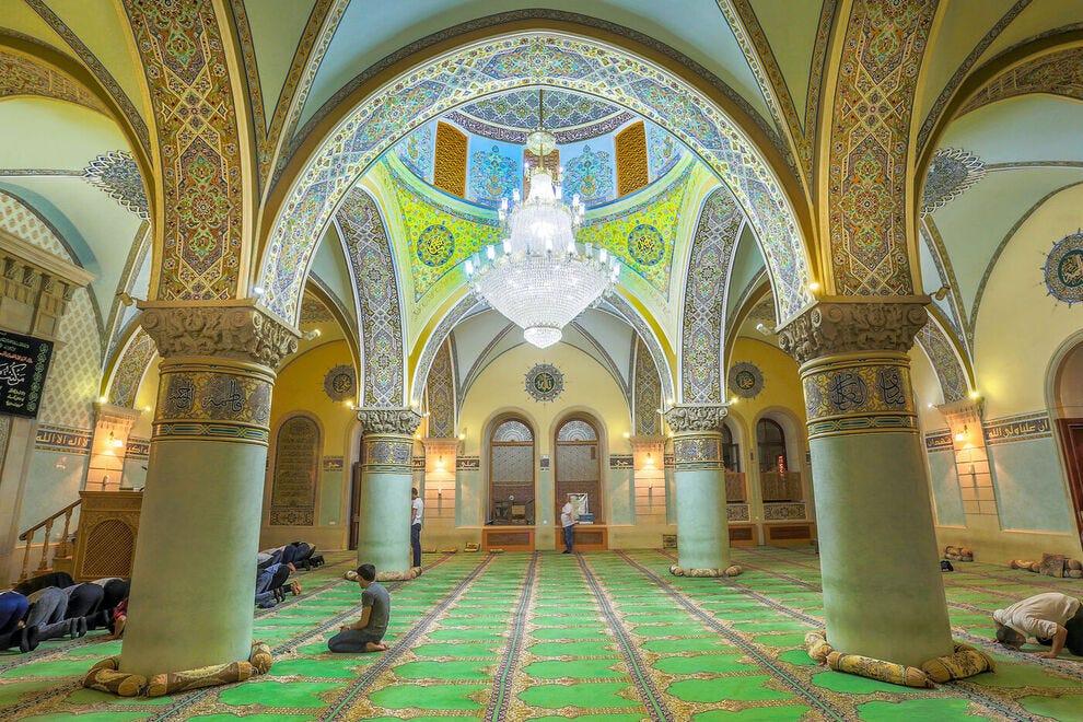 Juma Mosque in Baku's Old City