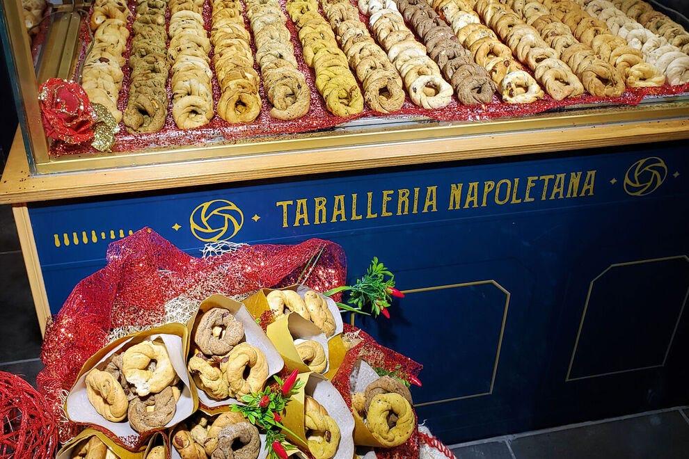 Neapolitan Taralli, a favorite snack food