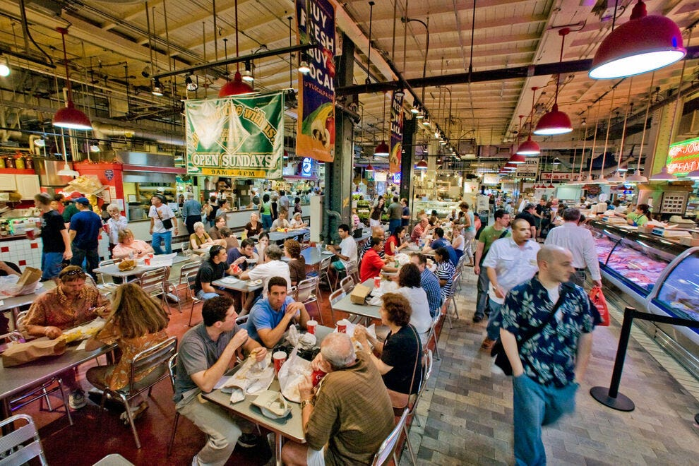 Find Philly favorites at Reading Terminal Market