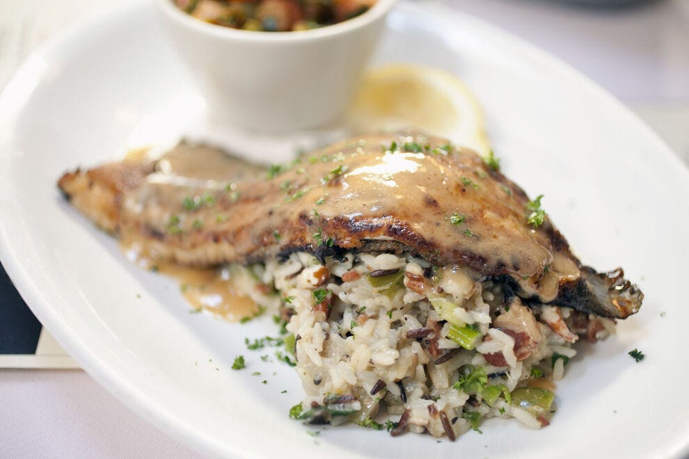 New Orleans-style trout
