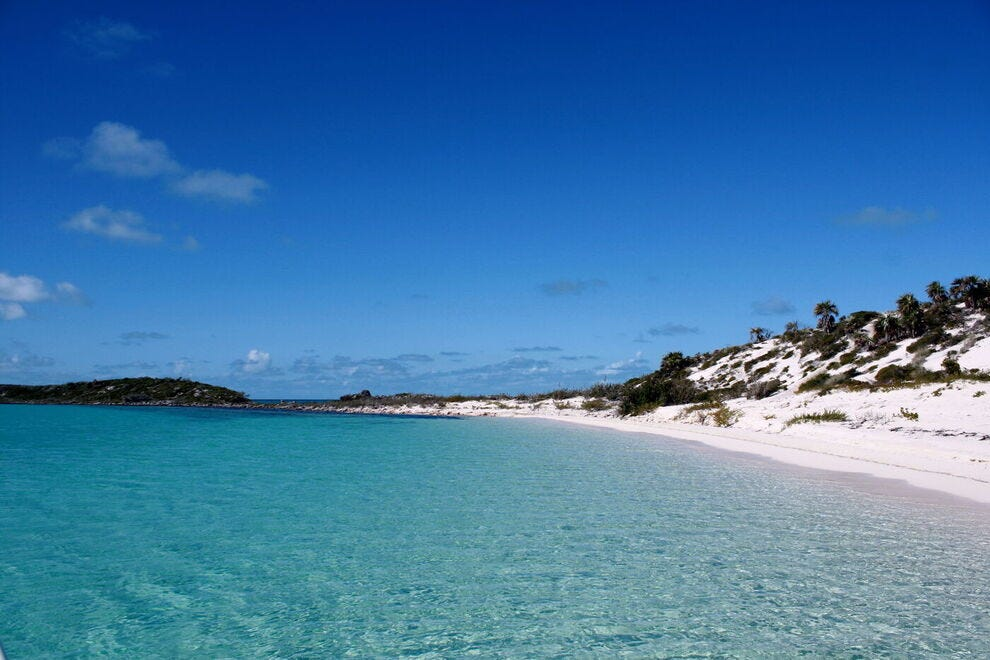 Secluded beaches and magnificent coral reefs make up Exuma Cays Land & Sea Park, the Bahamas' first national park