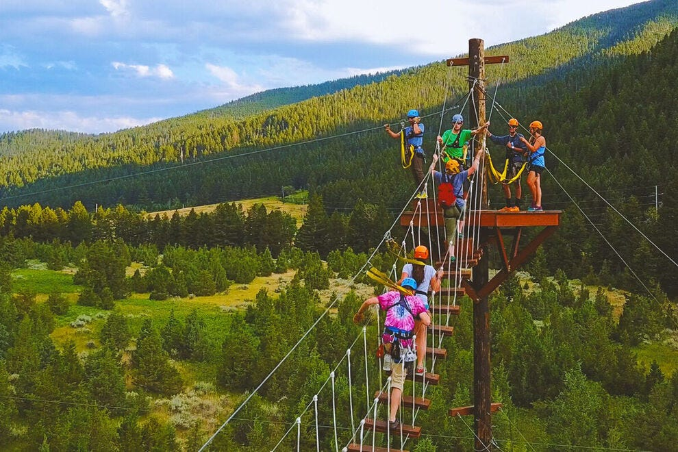 Aerial Adventure Park Winners 2021 Usa Today 10best