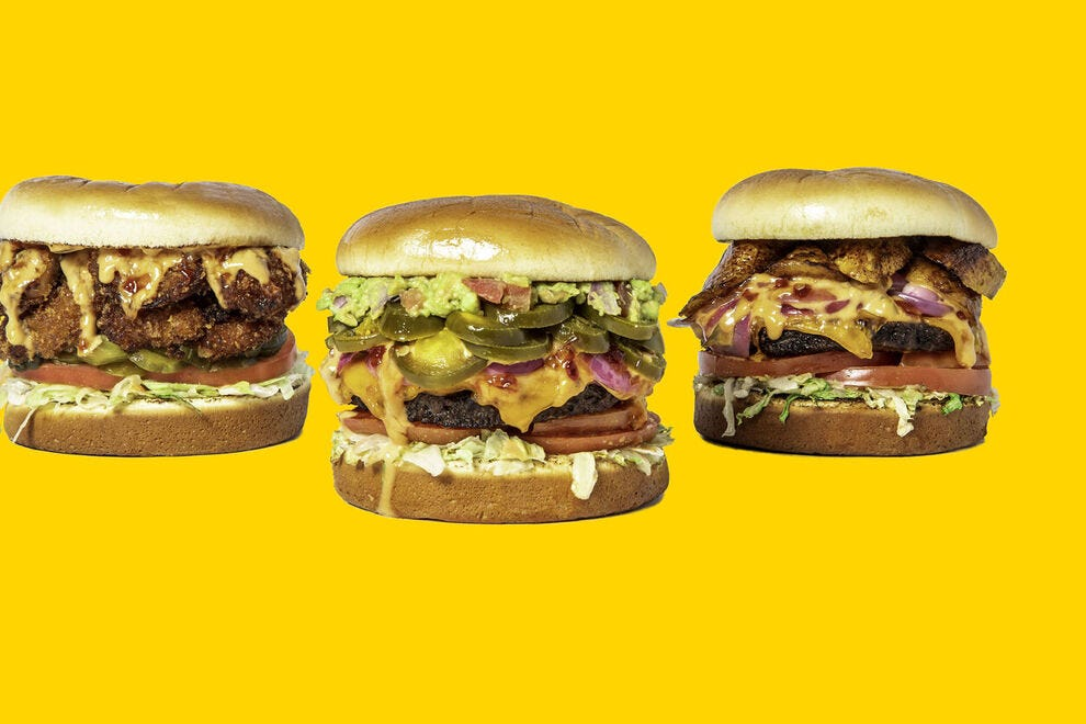 The awesome vegan burgers inspire a lot of customers to become regulars