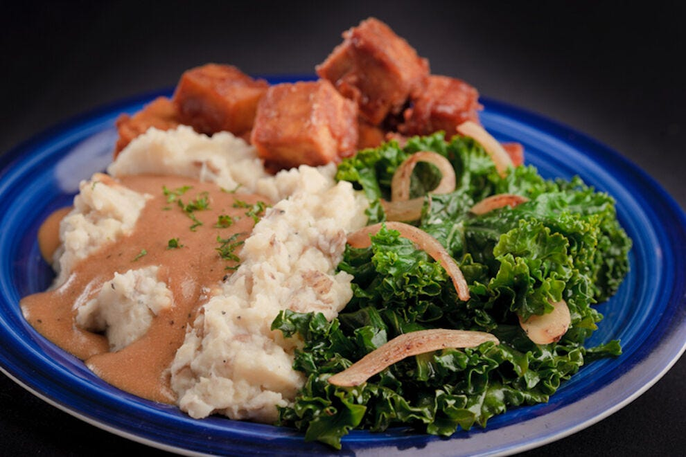 Their Family Favorite dish inspires repeat customers with its peanut butter-baked tofu