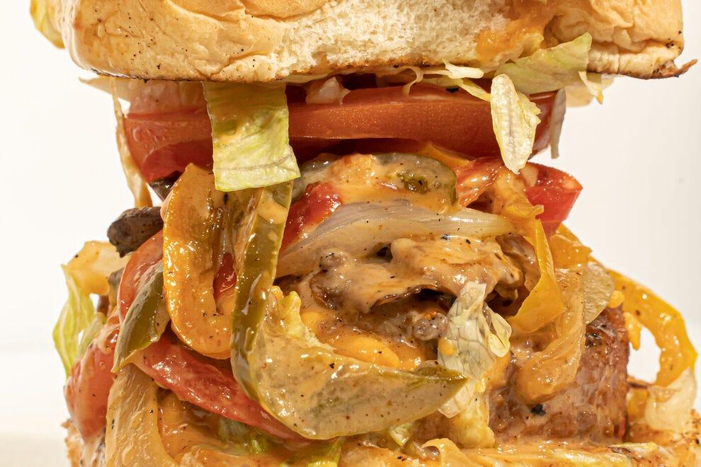 Plant Bae's burgers are scrumptious