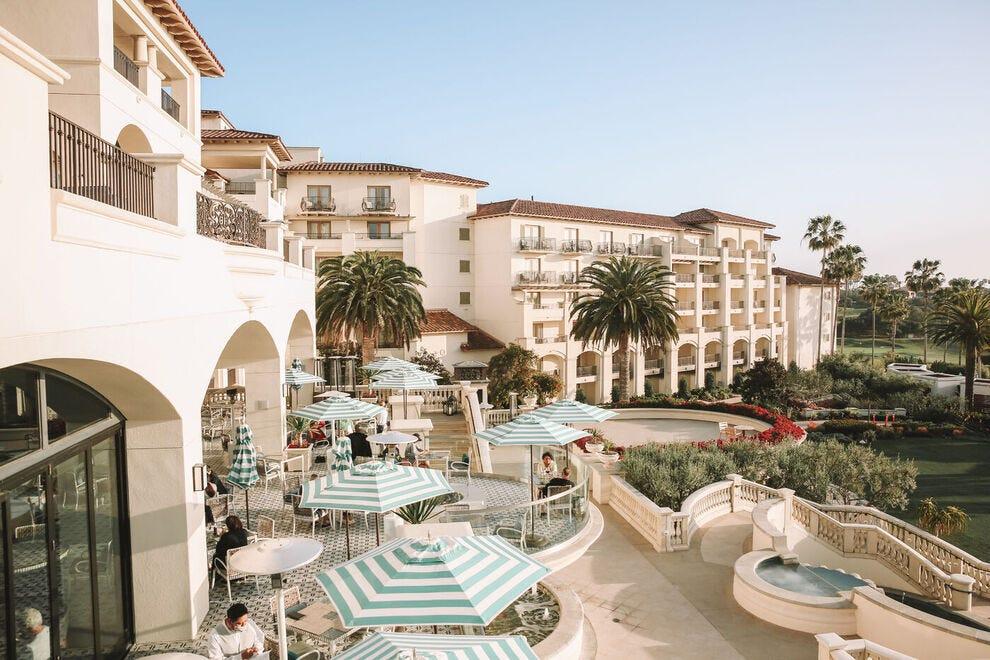 Terrace view of Waldorf Astoria Monarch Beach Resort