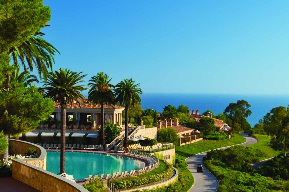 Ocean views from The Resort at Pelican Hill