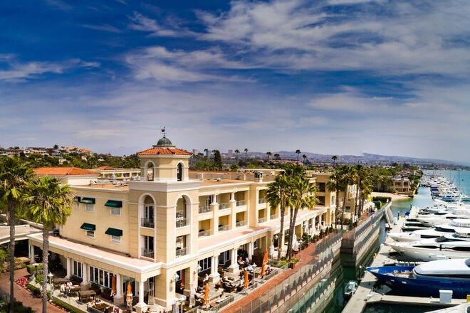 Relax in Newport Beach, California at the luxurious Balboa Bay Resort
