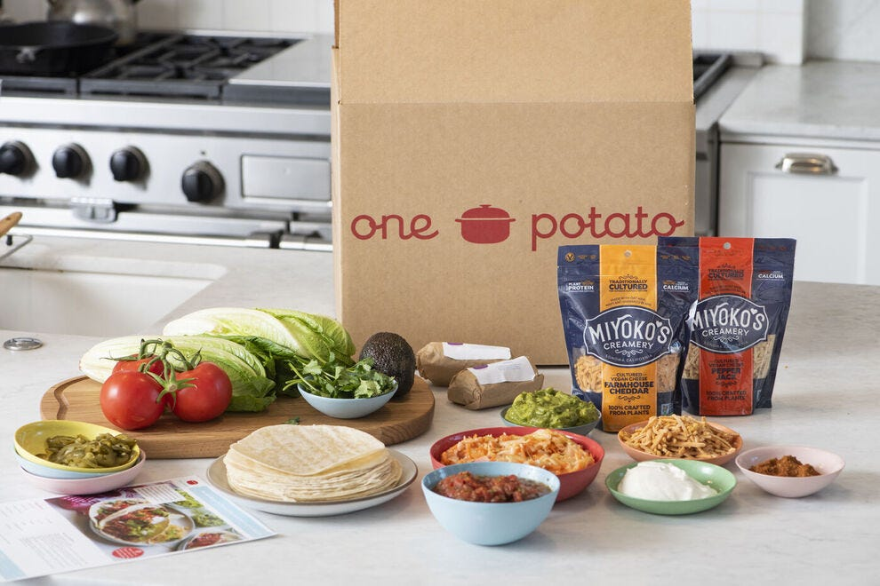 One Potato's meal kit
