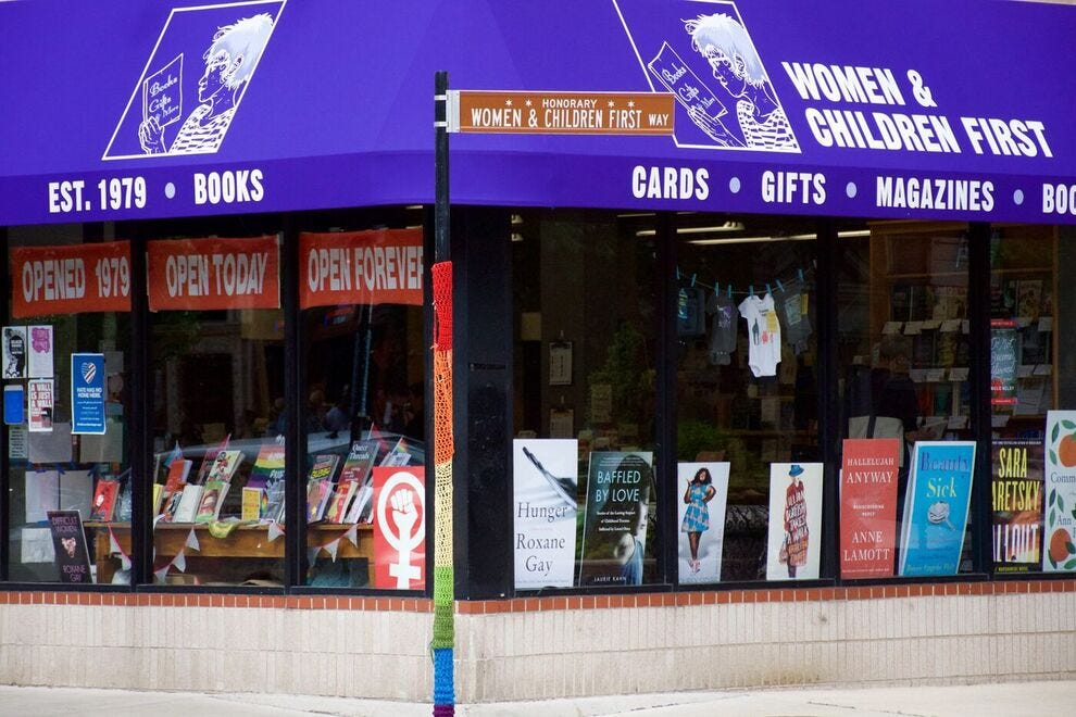 The Women & Children First bookstore is one of the last feminist bookshops in the United States