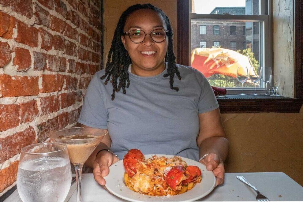 Lobster Regina is Jasmine's go-to dish at La Scala