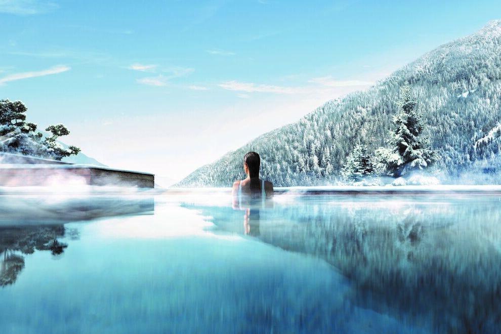 Piscina al Lefay Resort and Spa