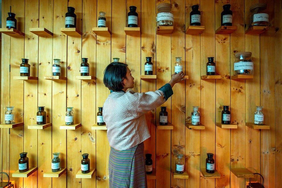 Erbe ad alta quota al Bhutan Spirit Sanctuary