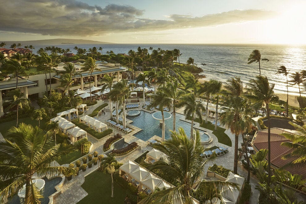 Adults-only pool at Four Seasons Resort Maui at Wailea