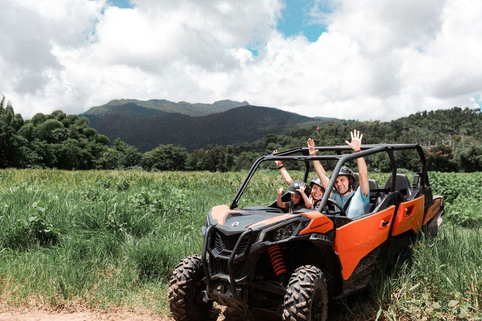 Riding and exploring Puerto Rico by ATV