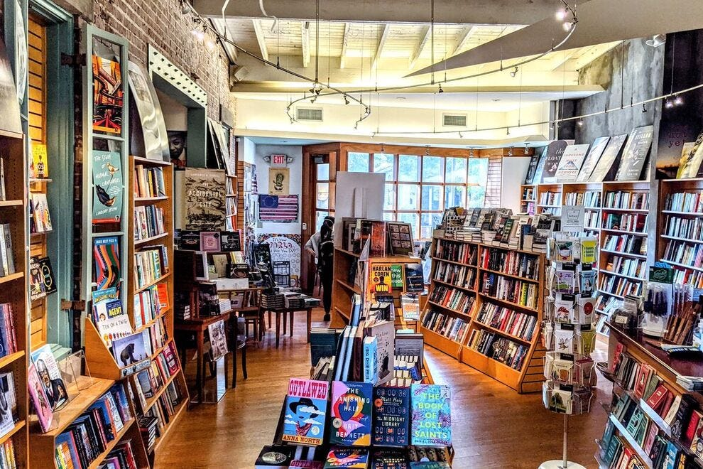 Octavia Books in New Orleans