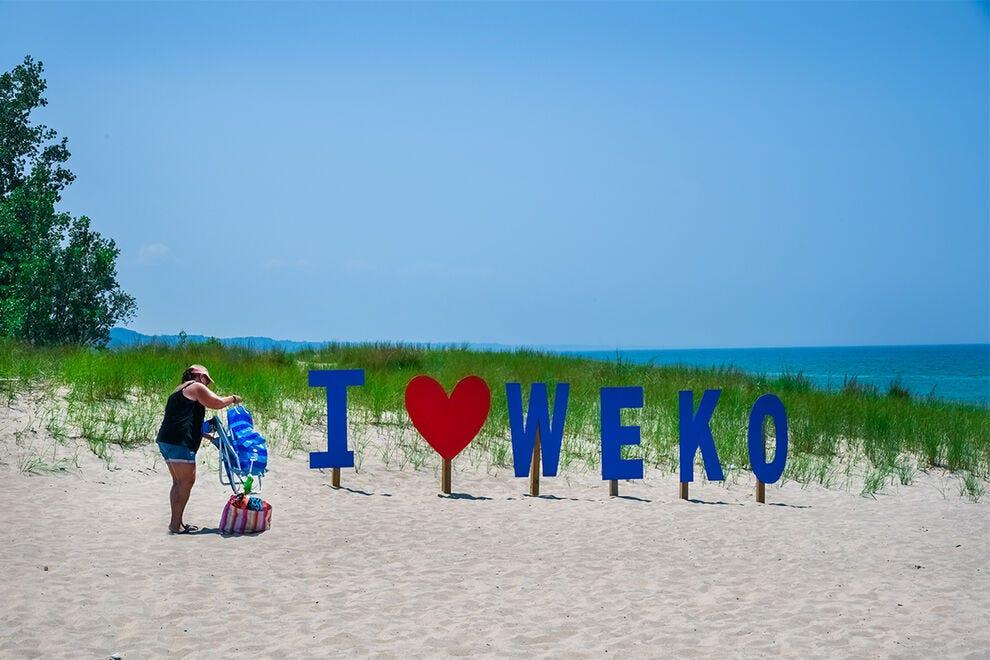 Weko Beach Park, adjacent to Warren Dunes State Park