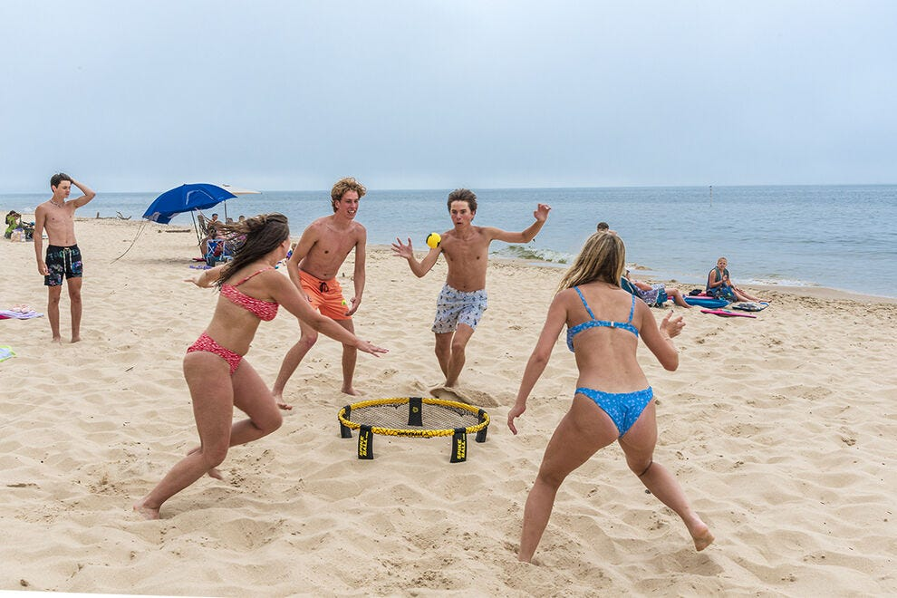 P.J. Hoffmaster State Park offers dunes and plenty of beach for summer fun