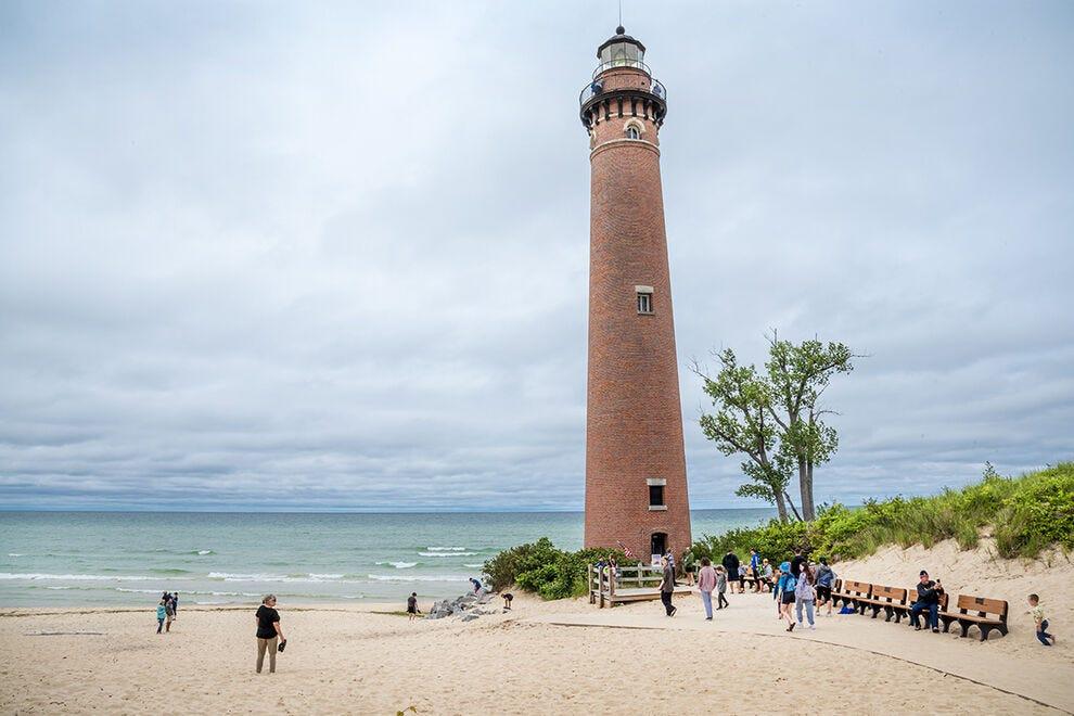 Little Sable Point Lighthouse near Ludington, Michigan