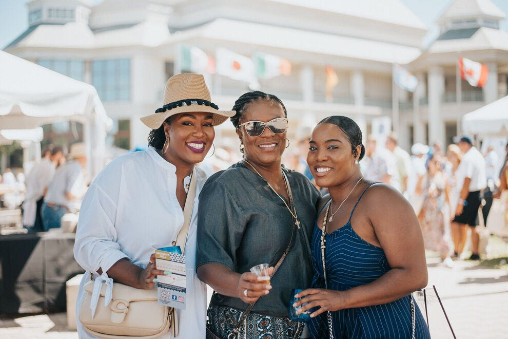 Great tastes of food and wine pair perfectly with great friends at the St. Augustine Food + Wine Festival