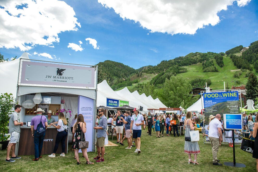 FOOD & WINE Classic has been an Aspen tradition for decades