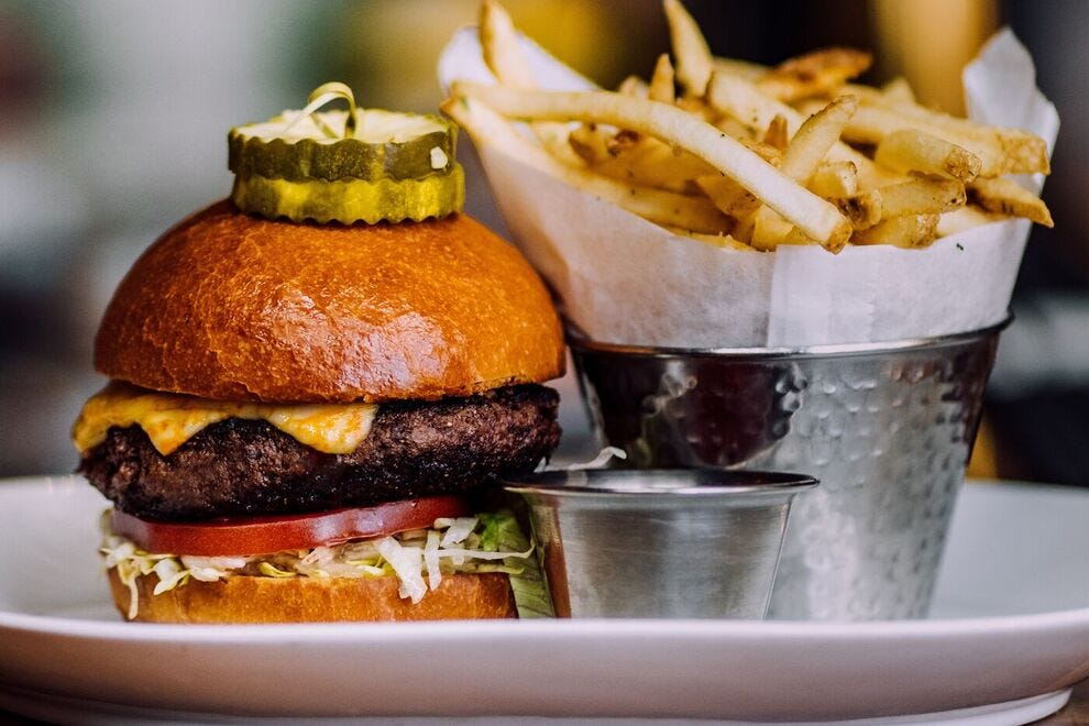 J Bar's J Burger is consistently rated one of Aspen's best burgers