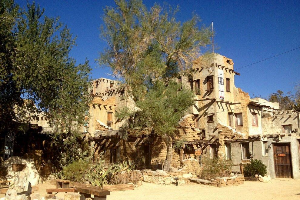 The eccentric Pueblo de Cabot museum is worth a visit