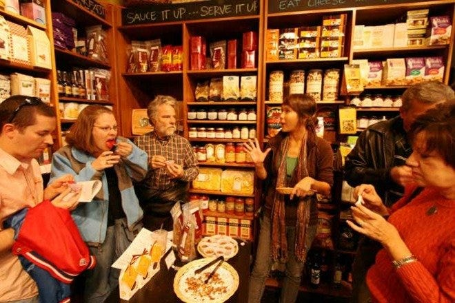 Take a unique walking tour through Chicago neighborhoods to learn about the foods and culture of this great city.