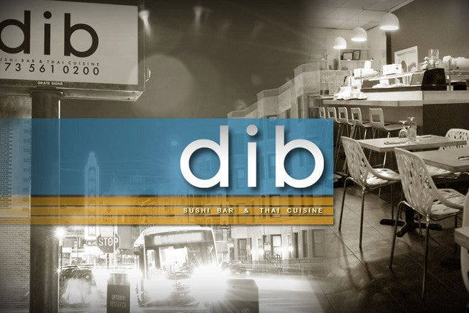 Dib Sushi Bar & Thai Restaurant in Chicago offering all your Asian Favorites