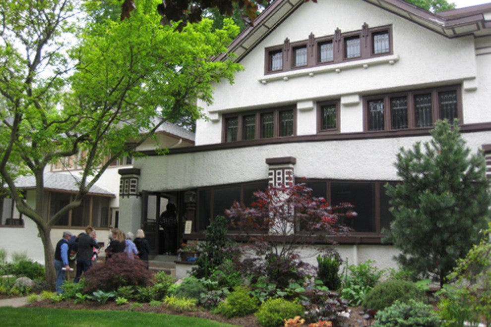 frank lloyd wright home studio and historic district tours chicago