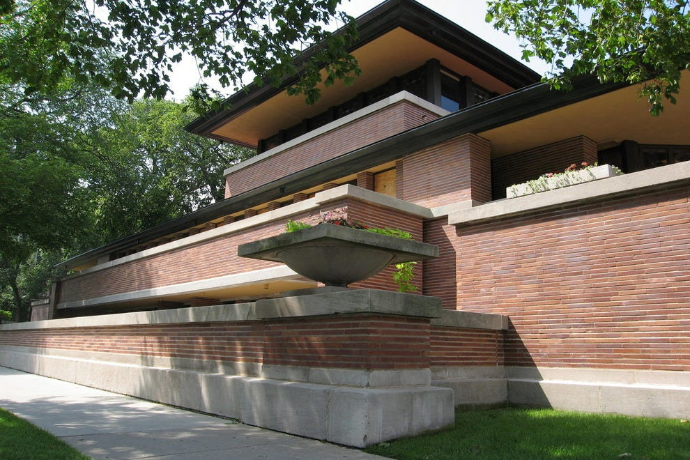 Frank Lloyd Wright Home And Studio Frank Lloyd Wright Home