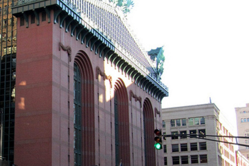 Harold Washington Library Chicago Attractions Review