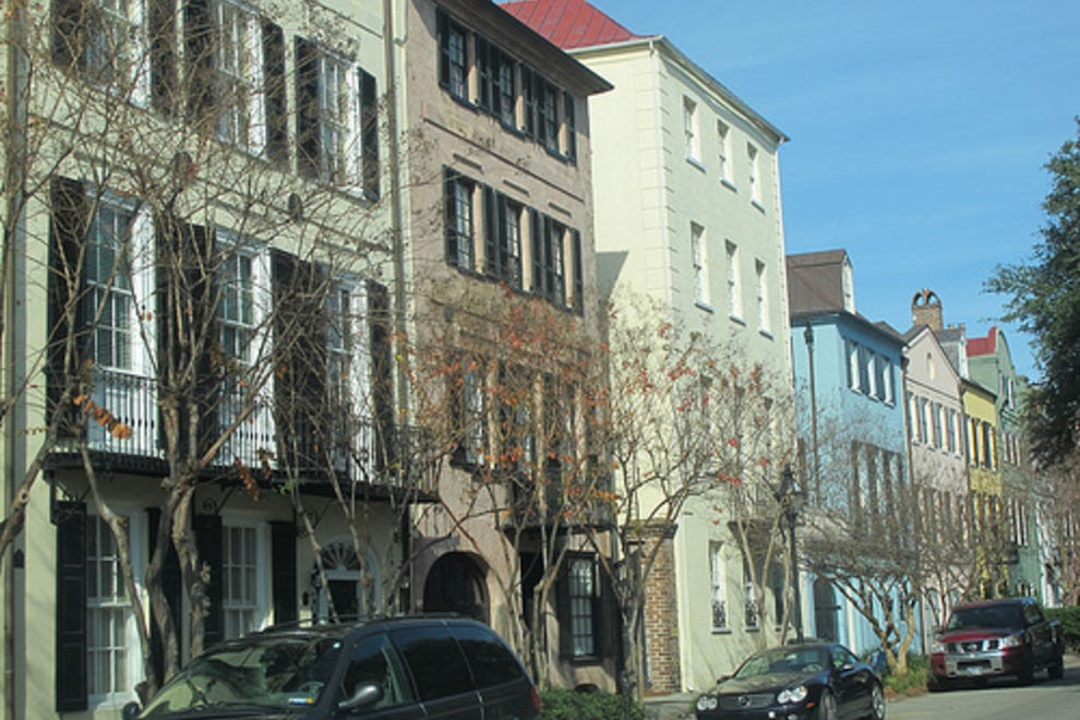 Rainbow Row Charleston Attractions Review 10best Experts And Tourist Reviews