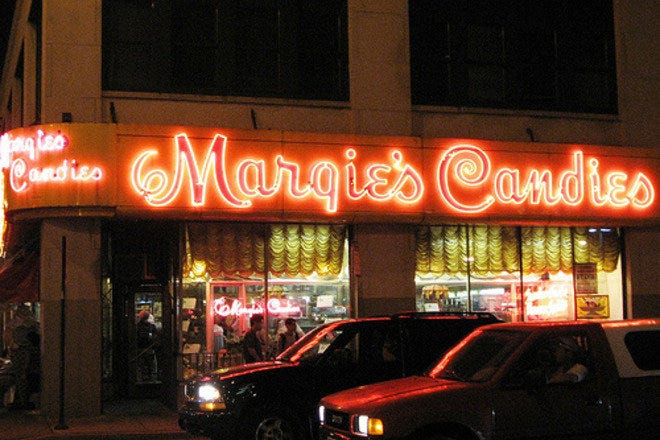 In business since 1928, Margies Candies prepares your favorite traditional homemade candies.