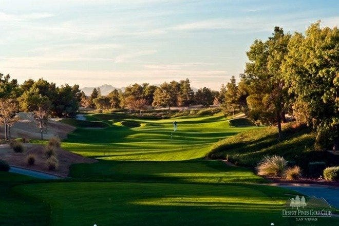Desert Pines Golf Club, Just off of the Las Vegas Strip, is sometimes called the city's top strategic golf course