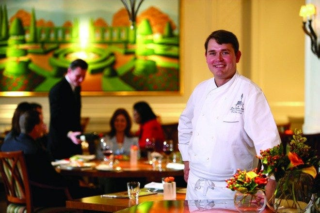 Park 75's Executive Chef, Robert Gerstenecker