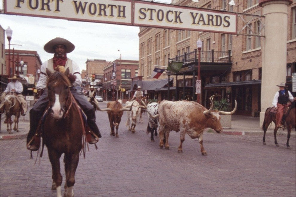 Fort Worth Stockyards National Historic District Fort Worth