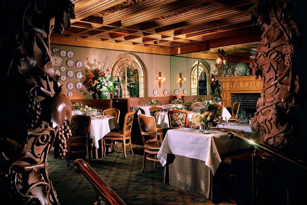 Mansion on turtle creek restaurant dallas restaurants for Best private dining rooms dallas