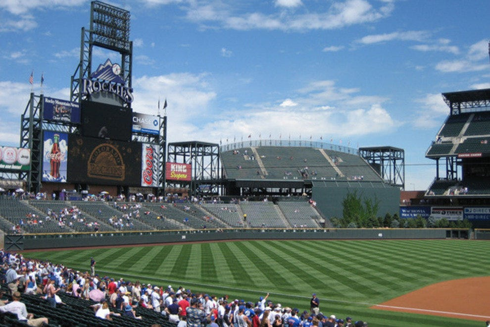 Coors Field Tours Denver Co