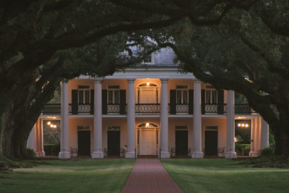 Oak Alley Plantation Interview With A Vampire Oak Alley Plantation