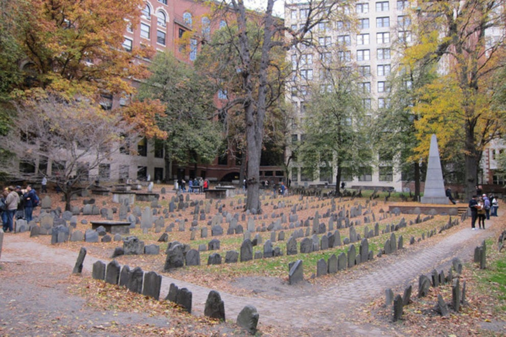 granary burial ground boston attractions review  experts  tourist reviews