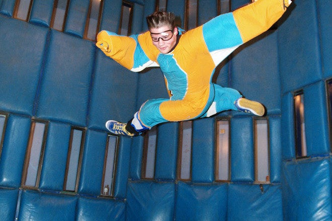 Safely experience the thrill of skydiving at Vegas Indoor Skydiving