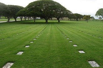 National Memorial Cemetery of the Pacific at Punchbowl Crater