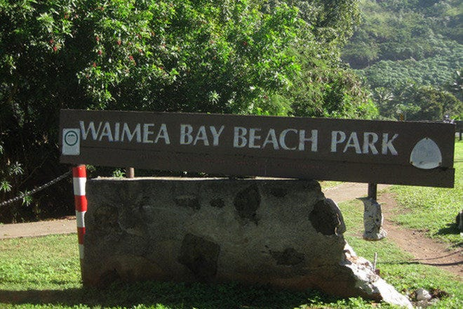 Waimea Bay Beach Park