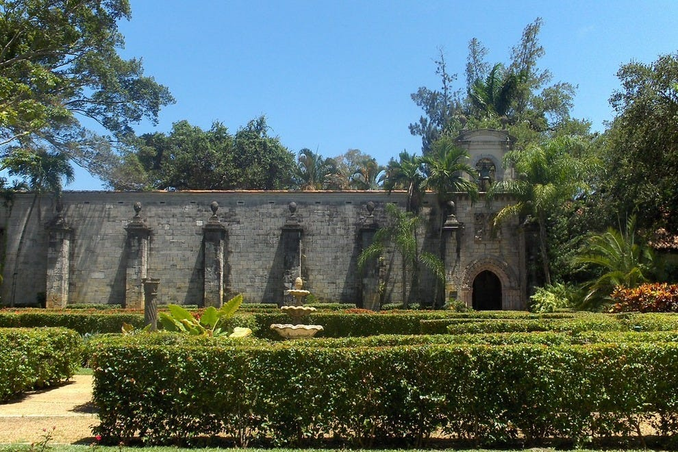 Monastery Of St Bernard De Clairvaux In North Miami Beach