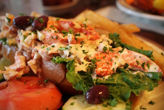 Lobster Roll at the Union Oyster House, Boston, MA