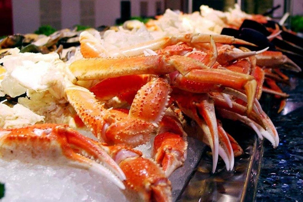 Crab Buffet Eat To Your Crab S Content: Bennett's Calabash Seafood: Myrtle Beach Restaurants