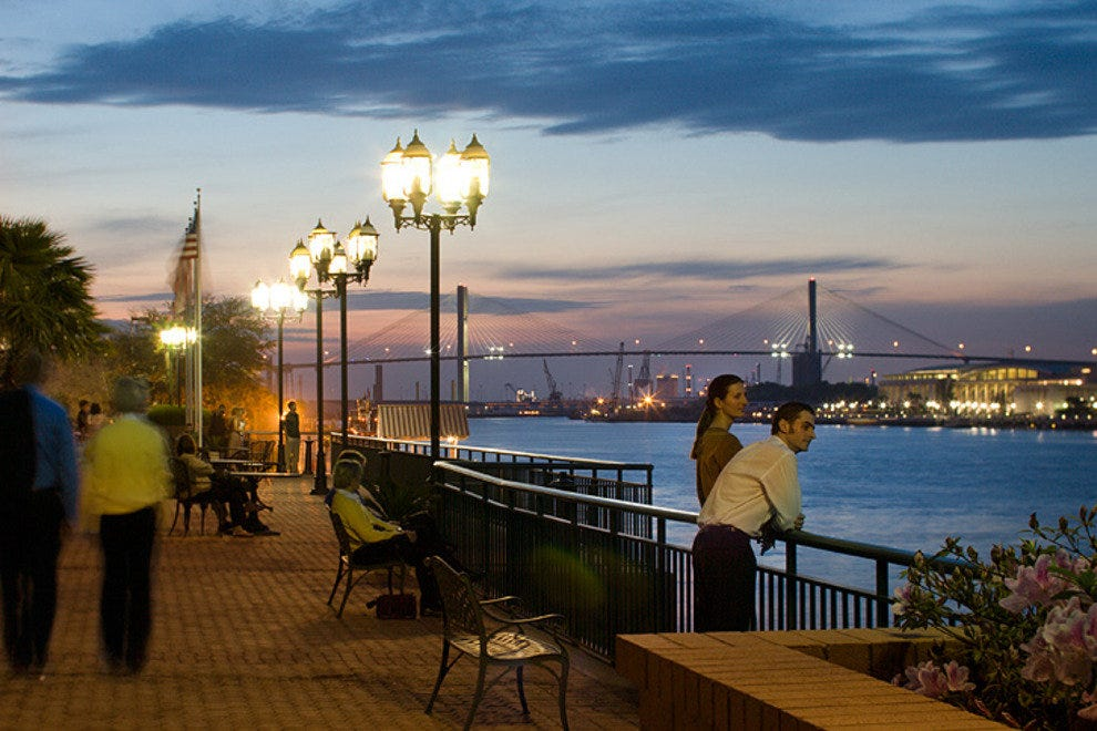 Savannah Riverfront Savannah Attractions Review 10best