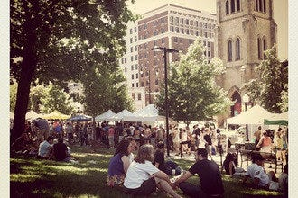 Dane County Farmers' Market on the Square