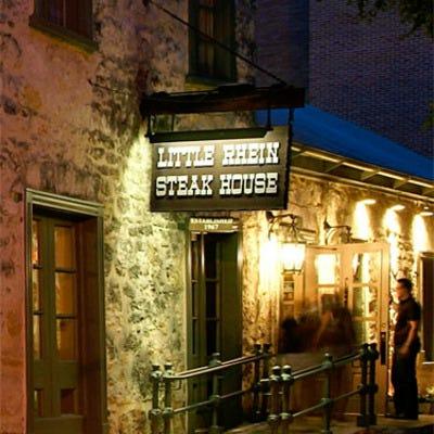 Little Rhein Steak House San Antonio Restaurants Review